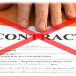 telephone line contract