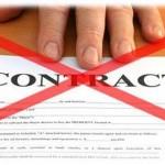 telephone line contract